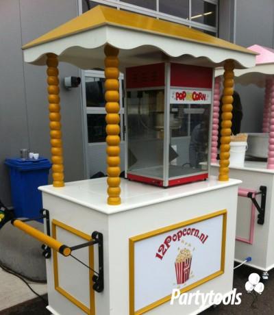Popcornkar huren in regio Nijmegen